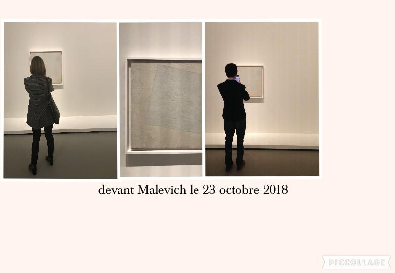 devant malevich collage